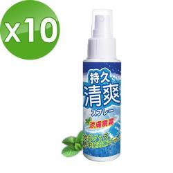 HAPPY HOUSE-涼膚噴霧(左旋薄荷配方)100ML-10瓶