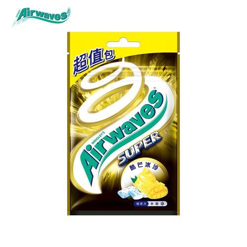 【Airwaves】酷芒冰沙超涼無糖口香糖(44粒超值包)/