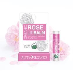 【即期品】Alteya 保加利亞進口 奧圖玫瑰護唇膏3入優惠組(5g x 3)