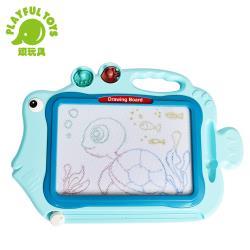 Playful Toys 頑玩具 彩色大畫板 628-96(多功能彩繪 塗鴉繪圖 磁性寫字 早教教具 兒童畫板)