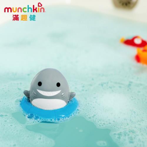 任-munchkin滿趣健-鯊魚轉轉樂洗澡玩具/