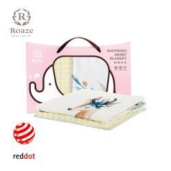 【Roaze 柔仕】 舒眠豆毯(薄款) -優雅花鹿