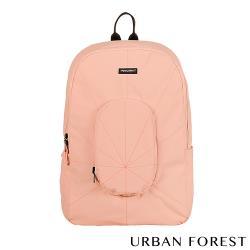 URBAN FOREST都市之森 樹-摺疊後背包/雙肩包 櫻花粉