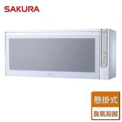 【SAKURA櫻花】殺菌烘碗機-80CM- 部分地區含基本安裝  Q7565AW