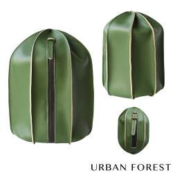 URBAN FOREST都市之森 仙人掌-洗漱包/盥洗包 (3件組) 苔蘚綠