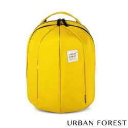 URBAN FOREST都市之森 甲蟲-可擴充後背包/雙肩包 (L號) 檸檬黃