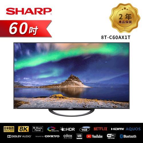 贈送HDMI線(3入組)+行動電源【SHARP