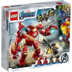 LEGO樂高積木 76164 SUPER HEROES 超級英雄系列 - 鋼鐵人浩克毀滅者對戰A.I.M. 特工