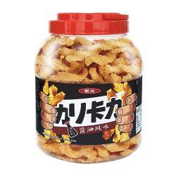 華元 卡力卡力桶320g(醬油風味/重量級隨身罐)