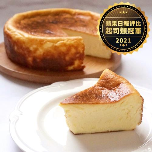 【巧克力雲莊】雲莊焦香巴斯克乳酪/