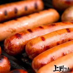 【上野物產】美國加州熱賣 人氣燻香大熱狗(1800g/20條/包) x1包