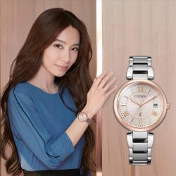 CITIZEN 星辰 XC 廣告款光動能亞洲限定女錶 EO1195-51W