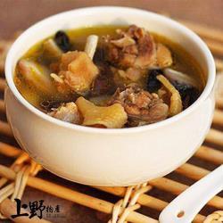 【上野物產】不會下廚也可以好好愛自己 嚴選台灣香菇燉雞湯(500g土5%/包) x5包