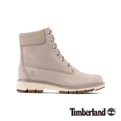 Timberland 女款淺褐色磨砂革經典防水6吋靴A22QDK51