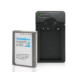 Dr.battery電池王 For Olympus BLN-1/BLN1 電池+Kamera佳美能專用充電器