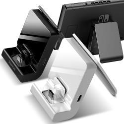 Baseus倍思 for Nintendo 任天堂Switch 可調支架充電底座(GS10)充電座 立架 桌上型 穩固 Type-C 充電器