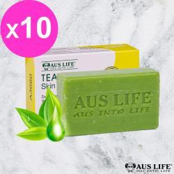 【AUS LIFE 澳思萊】澳洲原裝 BP級茶樹精油皂(10入)