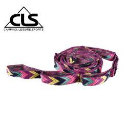 韓國CLS 多功能露營掛繩 紫色限定款/可伸縮掛物繩/彩虹掛繩