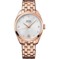 MIDO 美度 Belluna Royal真鑽機械女錶 M0243073303600