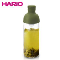 【HARIO】酒瓶綠色冷泡茶壺300ml