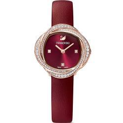 SWAROVSKI施華洛世奇 CRYSTAL FLOWER 永恆之戀時尚女錶(5552780)30mm