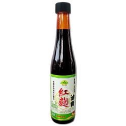 【味榮】純釀 紅麴黑豆油膏420ml