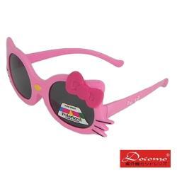 【Docomo兒童造型太陽眼鏡】可愛卡通造型 女童最喜歡的造型 高等級偏光鏡片 超抗UV400