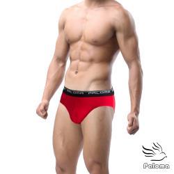 【Paloma】彈性舒適三角褲-紅色 男內褲 內褲