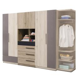 HD 慕尼黑2.5尺四抽衣櫥