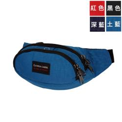 【YESON 永生】(台灣製造)運動型霹靂包/腰包/腰袋/貼身腰包_黑/藍/紅