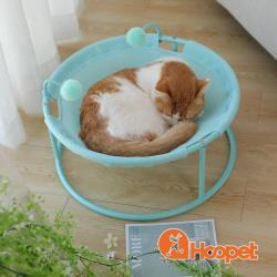 HOOPET 毛毛蟲躺椅寵物窩(三色任選)