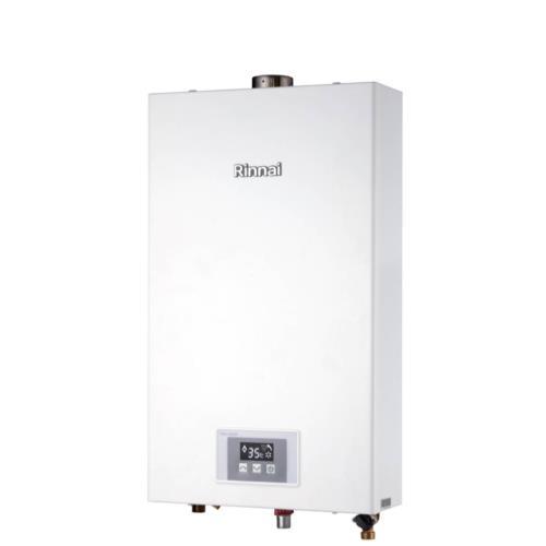 (全省安裝)林內12公升數位強制排氣熱水器天然氣(彰化以北)RUA-1200WF_NG1/