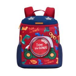 DF 童趣館 - 韓版超人氣小探險家兒童減壓透氣書包後背包-共3色
