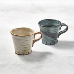 有種創意 - 日本美濃燒 - 寬口茶杯 - 對杯組(2件式)