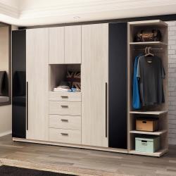 HD 伯恩8.5尺組合衣櫥