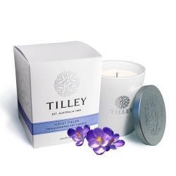 Tilley百年特莉 紫羅蘭香氛大豆蠟燭 240g