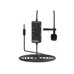 MAMEN 慢門 KM-D2 (相機.手機)領夾麥克風 USB充電 全向MIC 降噪 收音 直播(KMD2,公司貨)