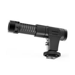 MAMEN 慢門 MIC-07 (相機.手機)超心形 指向 麥克風 USB充電 可監聽(MIC07,公司貨)收音 直播 錄音