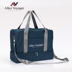 奧莉薇閣 旅行袋 運動包 行李收納袋 側背包 斜背包 方形大容量