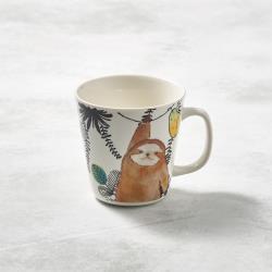 有種創意 - 日本美濃燒-萌之系列馬克杯-樹懶伸懶腰
