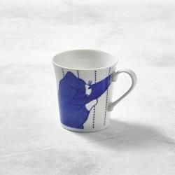有種創意 - 日本美濃燒-黑貓君馬克杯