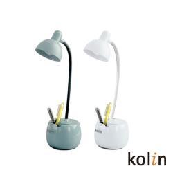 Kolin 歌林 LED筆筒檯燈(綠/白 隨機不挑色) KTL-DL500LD