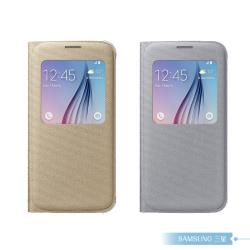 Samsung三星 原廠 Galaxy S6 透視感應皮套 (布面) 台灣公司貨