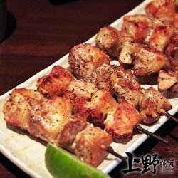 (烤肉任選899出貨)【上野物產】烤肉用 台產蔗香煙燻七里香(90g土10%/3串/包) x1包