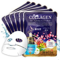韓國 malie 膠原蛋白保濕彈性面膜20mlx10入
