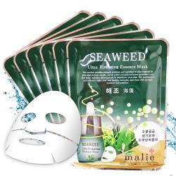 韓國 malie 海藻潤澤保濕緊緻面膜10入(20ml/片)
