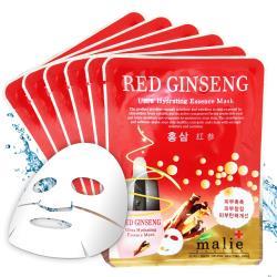 韓國 malie 紅蔘調理緊緻保濕面膜10入(20ml/片)