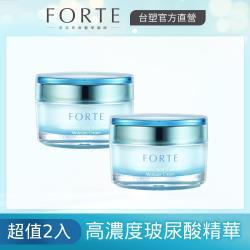 FORTE 台塑生醫 玻尿酸三重水潤精華霜50mlX2