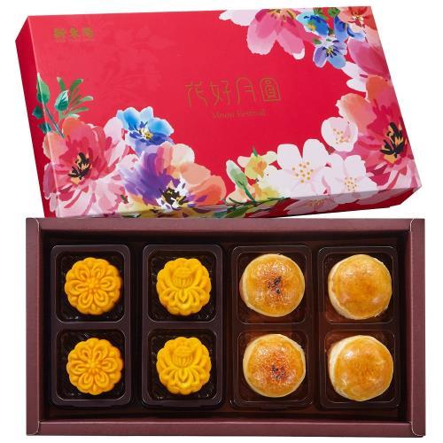預購-【新東陽-中秋禮盒】花好月圓2號(珍珠奶茶奶皇