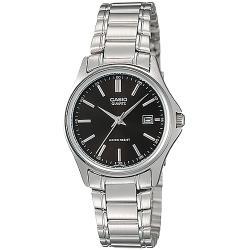 CASIO卡西歐 韓系簡約風時尚配件女錶-黑(LTP-1183A-1A)